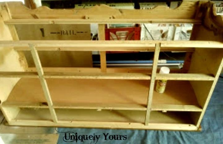 Dresser no shelves