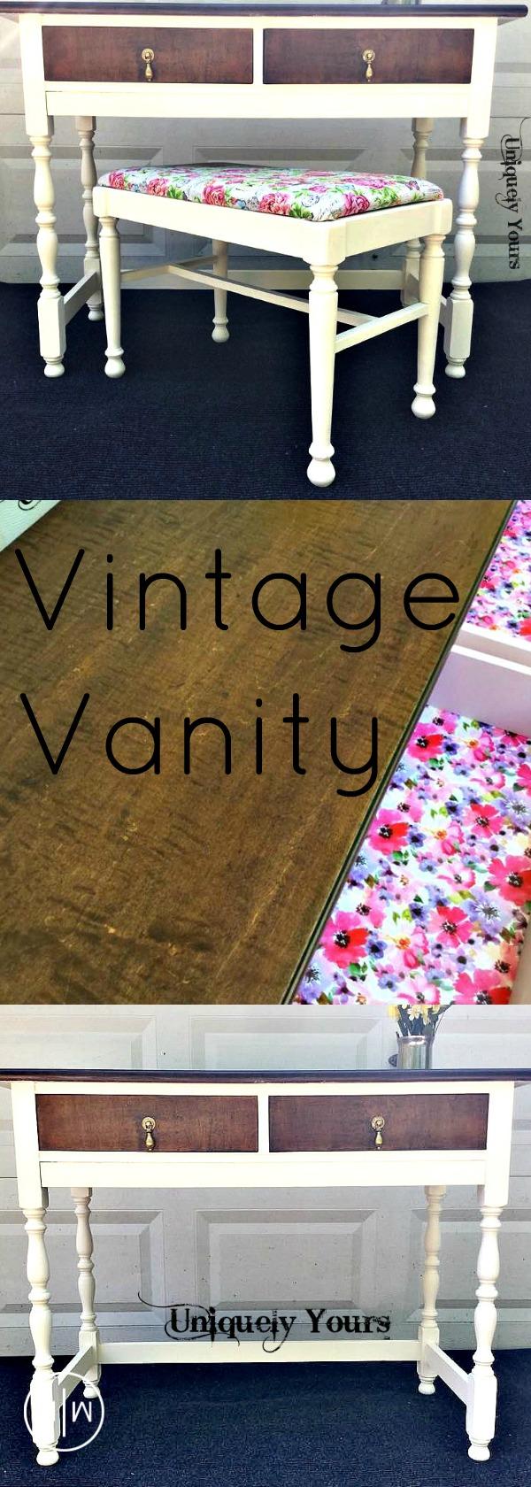 Vintage Vanity 1